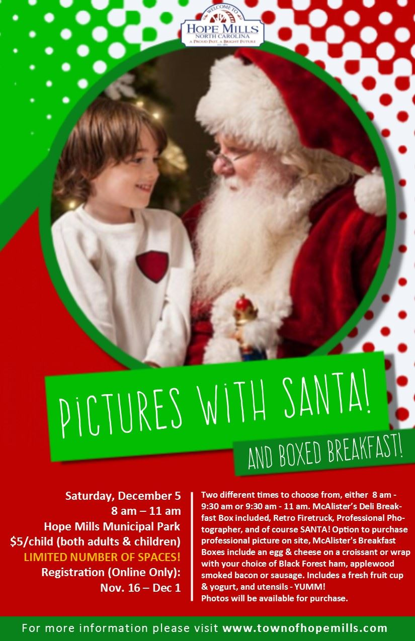 Pictures with Santa Flyer 2020