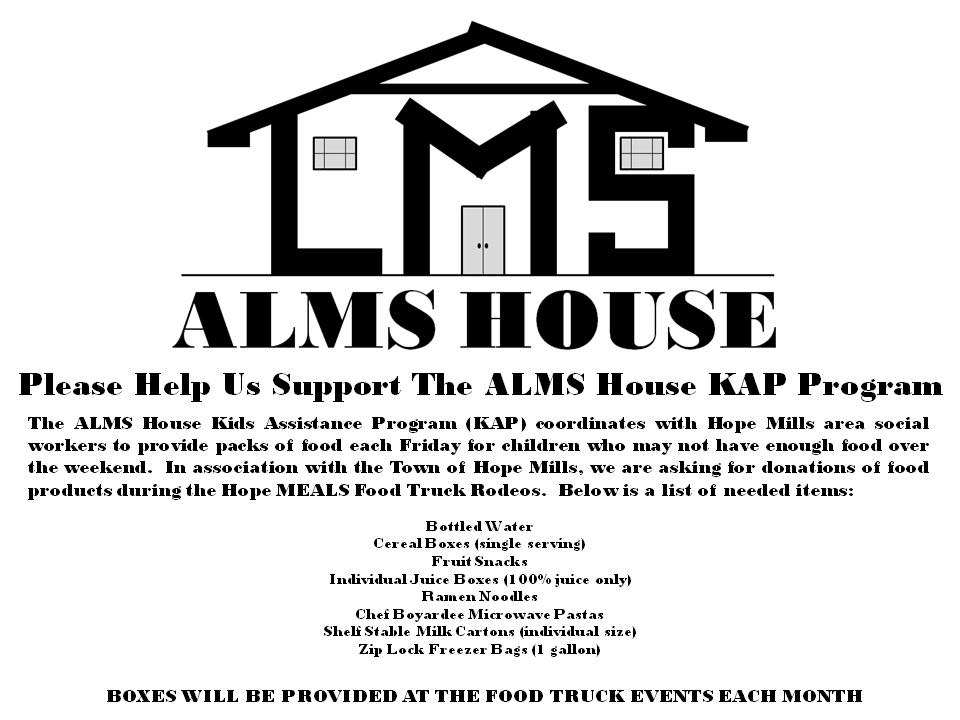 Alms House Flyer