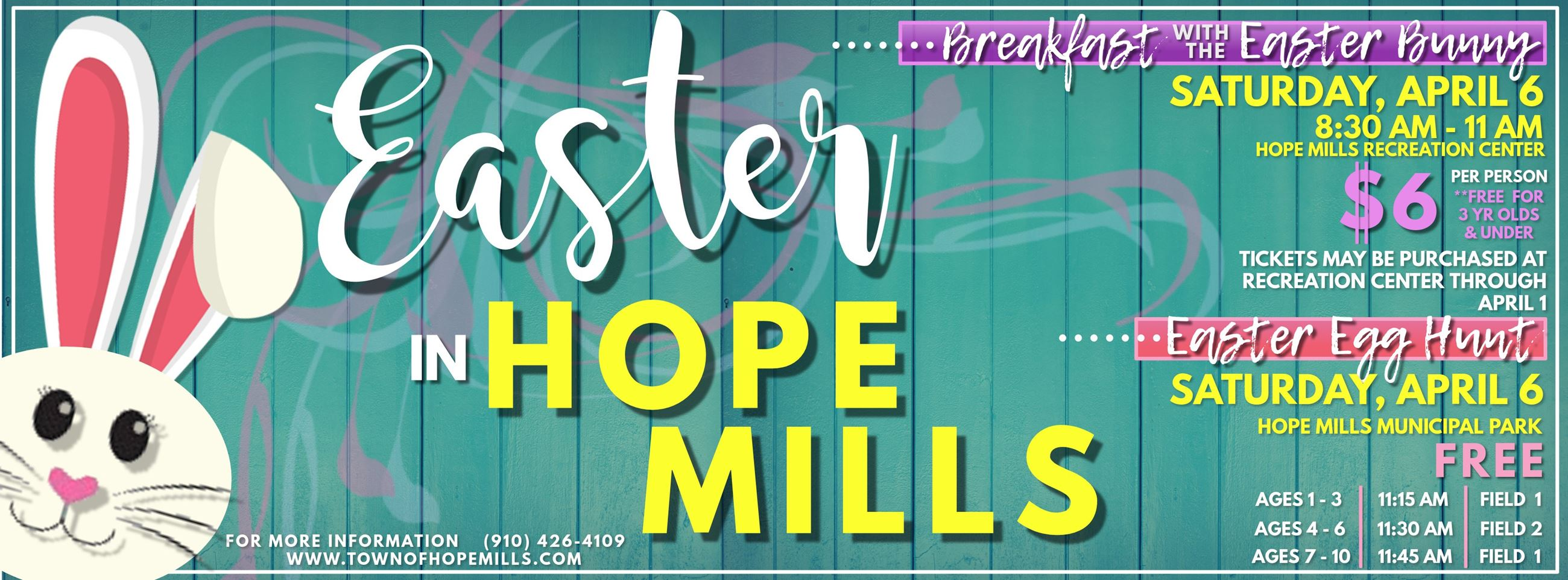 Easter in Hope Mills Facebook Cover Photo