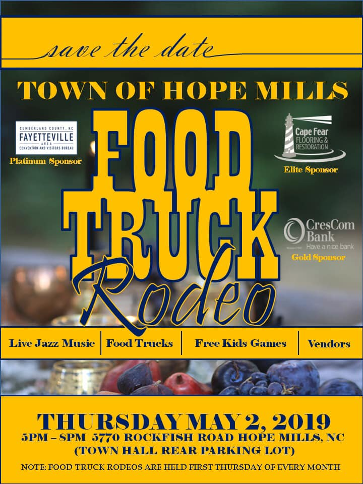 Food Truck Event, May 2, 2019