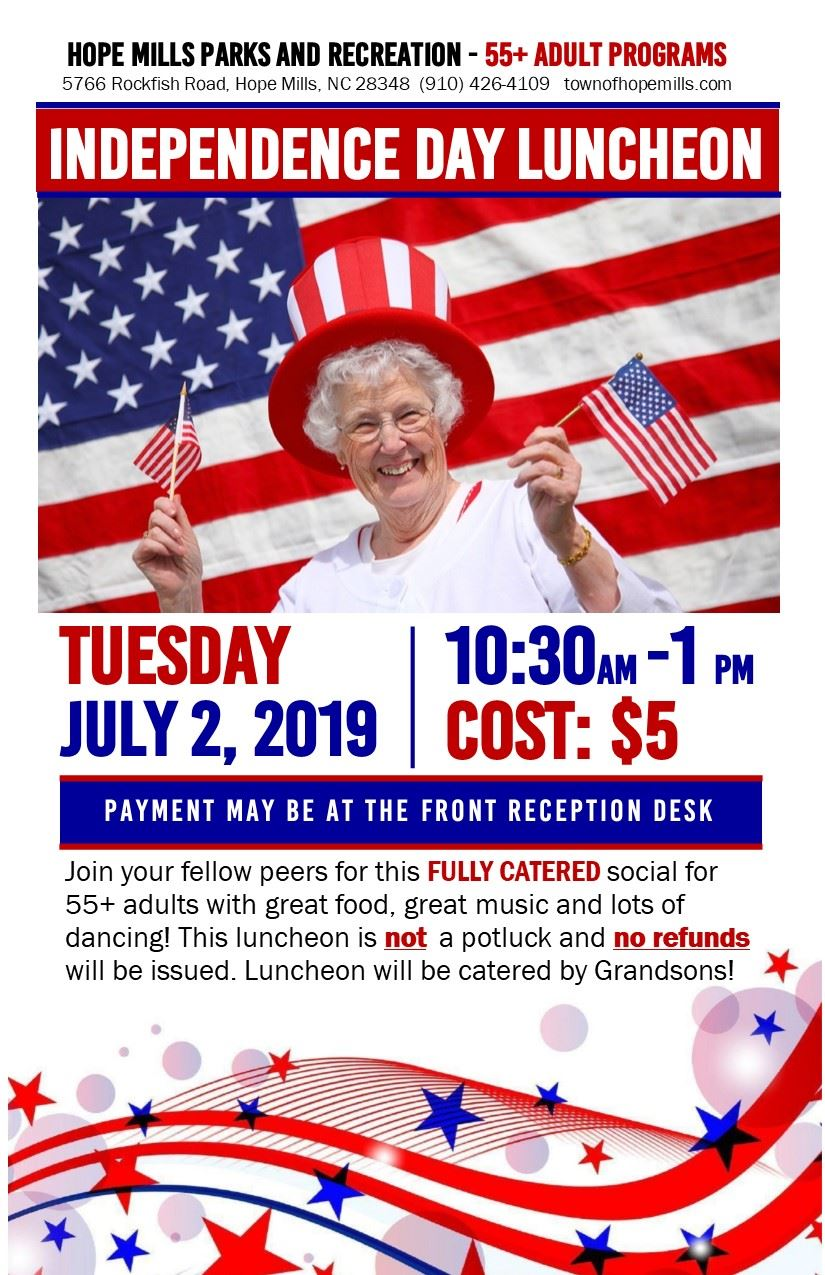 4th of July Luncheon